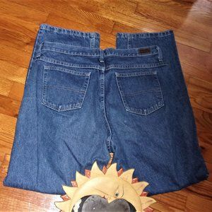 riders 14 womens relaxed fit blue jeans pants